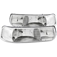 AnzoUSA 111011 Crystal Headlights Chrome