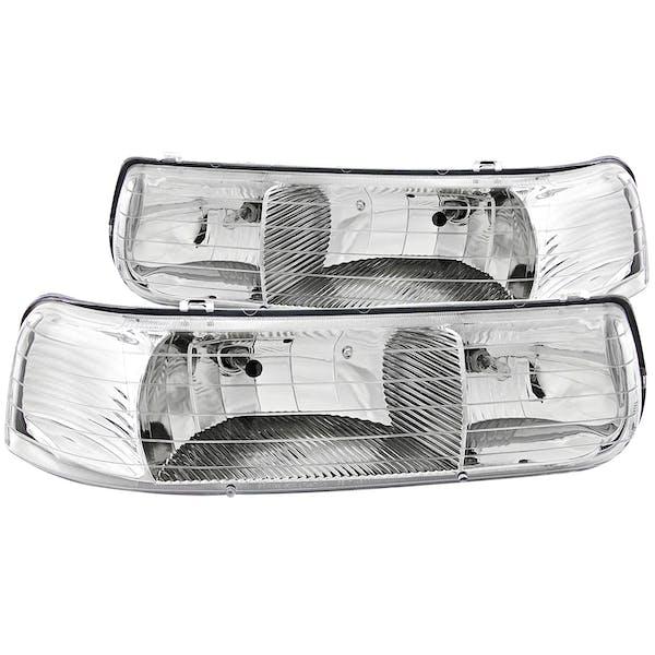 AnzoUSA 111011 Crystal Headlights Chrome