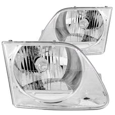 AnzoUSA 111030 Crystal Headlights Chrome