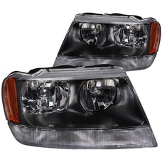 AnzoUSA 111042 Crystal Headlights Black