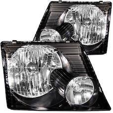 AnzoUSA 111058 Crystal Headlights Black