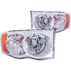 AnzoUSA 111076 Crystal Headlights Chrome