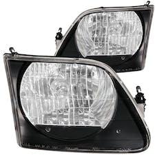 AnzoUSA 111083 Crystal Headlights Black G2