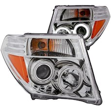 AnzoUSA 111112 Projector Headlights with Halo Chrome