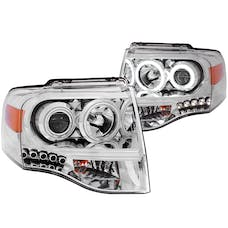 AnzoUSA 111114 Projector Headlights Chrome