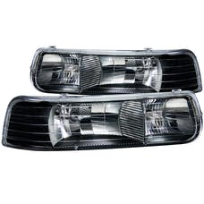 AnzoUSA 111155 Crystal Headlights Black