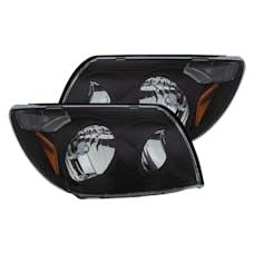 AnzoUSA 111394 Crystal Headlights Black