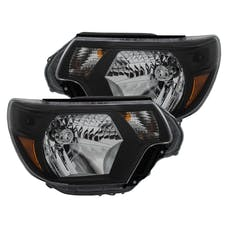 AnzoUSA 111395 Crystal Headlights Black