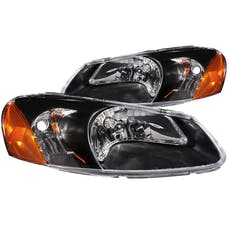AnzoUSA 121026 Crystal Headlights Black
