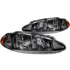 AnzoUSA 121027 Crystal Headlights Black