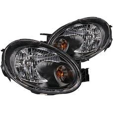 AnzoUSA 121030 Crystal Headlights Black