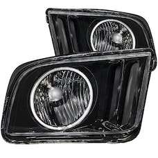 AnzoUSA 121033 Crystal Headlights with Halo Black (SMD LED)
