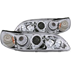 AnzoUSA 121054 Projector Headlights with Halo Chrome