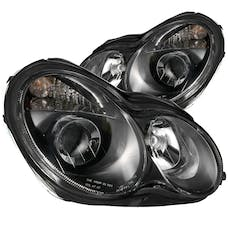 AnzoUSA 121079 Projector Headlights Black