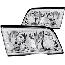 AnzoUSA 121081 Crystal Headlights Chrome