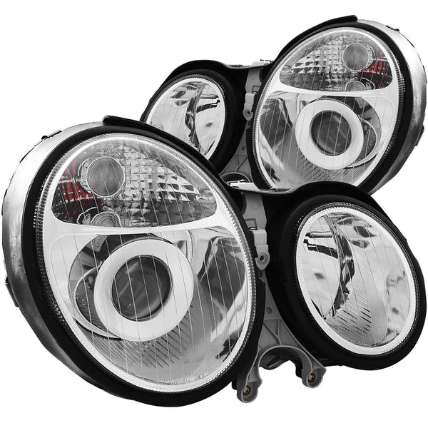 AnzoUSA 121086 Projector Headlights Chrome