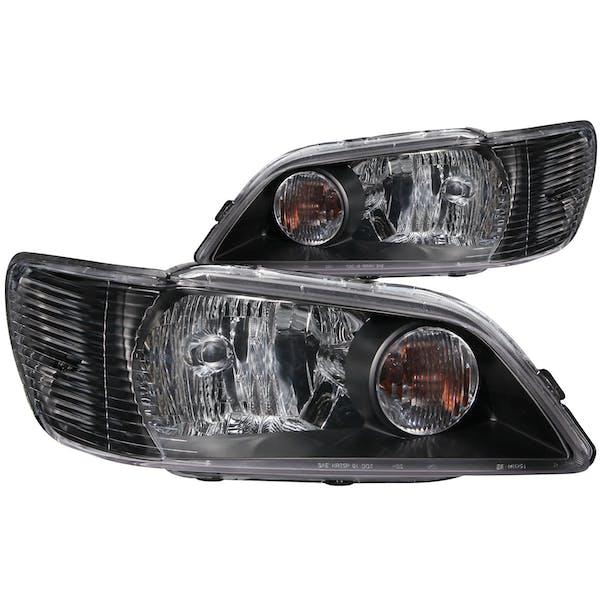 AnzoUSA 121101 Crystal Headlights Black