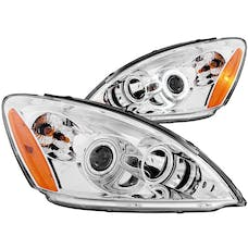 AnzoUSA 121103 Projector Headlights with Halo Chrome (SMD LED)