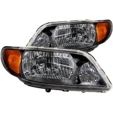 AnzoUSA 121107 Crystal Headlights Black