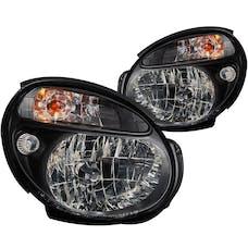 AnzoUSA 121121 Crystal Headlights Black