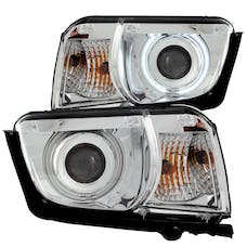AnzoUSA 121311 Projector Headlights with Halo Chrome (SMD LED)