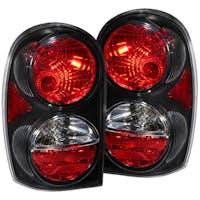 AnzoUSA 211108 Jeep Liberty Taillights Black