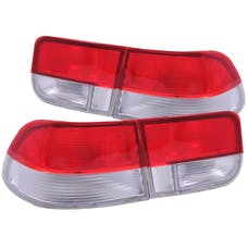 AnzoUSA 221147 Taillights Red/Clear - OEM 4pc