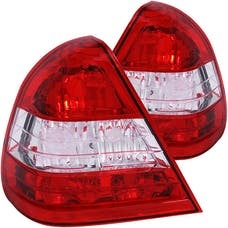 AnzoUSA 221157 Taillights Red/Clear