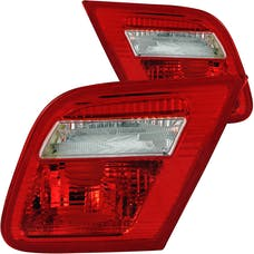 AnzoUSA 221164 Taillights Red/Clear - Inner