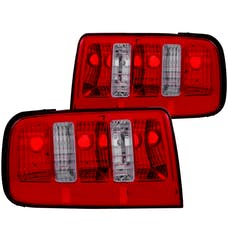 AnzoUSA 221166 Taillights Red/Clear - 2010 Style