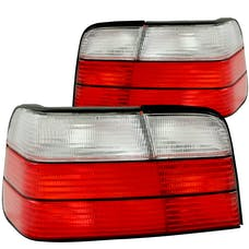 AnzoUSA 221216 Taillights Red/Clear
