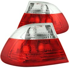 AnzoUSA 221217 Taillights Red/Clear