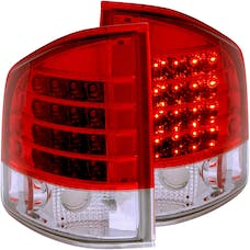 AnzoUSA 311013 LED Taillights Red/Clear