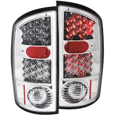 AnzoUSA 311017 LED Taillights Chrome