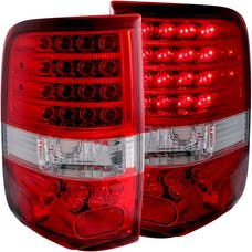 AnzoUSA 311022 LED Taillights Red/Clear