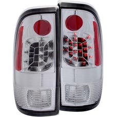 AnzoUSA 311026 LED Taillights Chrome