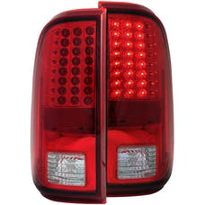AnzoUSA 311050 LED Taillights Red/Clear