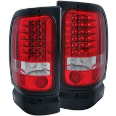 AnzoUSA 311052 LED Taillights Red/Clear