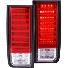 AnzoUSA 311068 LED Taillights Red/Clear