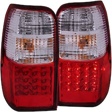 AnzoUSA 311070 LED Taillights Red/Clear