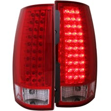AnzoUSA 311082 LED Taillights Red/Clear