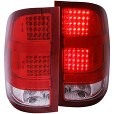 AnzoUSA 311089 LED Taillights Red/Clear