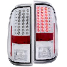 AnzoUSA 311128 LED Taillights Chrome