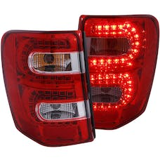 AnzoUSA 311150 Jeep Grand Cherokee LED Taillights Red/Clear