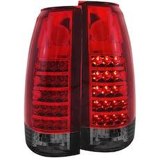 AnzoUSA 311157 LED Taillights Red/Smoke