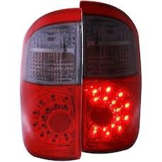 AnzoUSA 311177 LED Taillights Red/Smoke