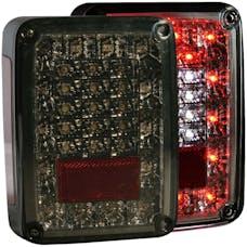 AnzoUSA 311203 Jeep Wrangler JK/JKU LED Taillights Smoke
