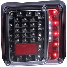 AnzoUSA 311212 Jeep Wrangler JK/JKU LED Taillights Black