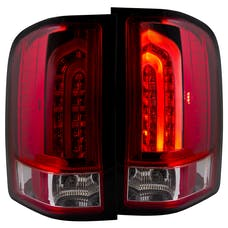 AnzoUSA 311225 LED Taillights Red/Clear G2