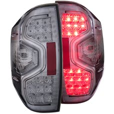 AnzoUSA 311235 LED Taillights Chrome